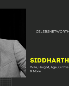 Siddharth Shukla Wiki, Height, Age, Girlfriend, Net Worth, Biography & More