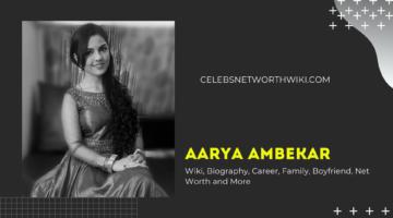 Aarya Ambekar Phone Number, WhatsApp Number, Contact Number, Office Phone Number