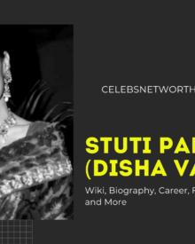 Stuti Padia (Disha Vakani) Wiki, Biography, Career, Family, Husband, Net Worth and More