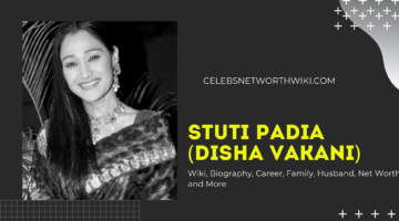 Stuti Padia (Disha Vakani) Wiki, Biography, Career, Family, Husband, Net Worth and More