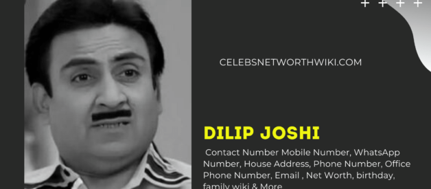 Dilip Joshi Contact Number,  WhatsApp Number, Address, Email ID