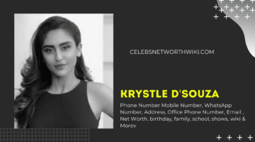 Krystle D'souza Phone Number, WhatsApp Number, Address,  Office Phone Number