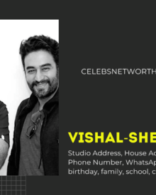 Vishal Shekhar Studio Address, House Address, Number,  Email