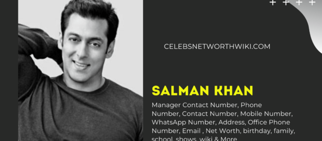 Salman Khan Manager Contact Number, Mobile Number,  WhatsApp Number, Address, Email ID