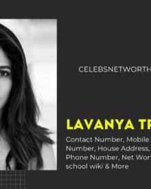 Lavanya Tripathi Contact Number, Mobile Number,  WhatsApp Number