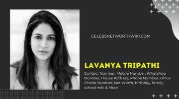 Lavanya Tripathi Phone Number, WhatsApp Number, Contact Number, Office Phone Number