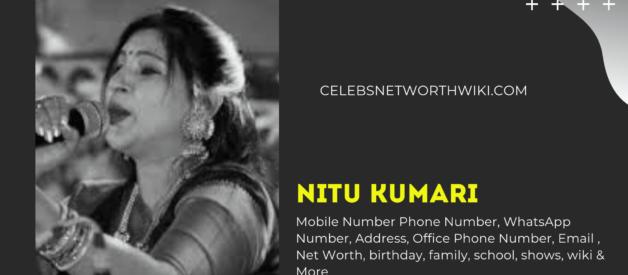 Nitu Kumari Mobile Number, Phone Number, WhatsApp Number, Contact Number, Office Mobile Number