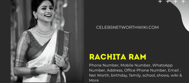 Rachita Ram Phone Number, WhatsApp Number, Contact Number, Office Phone Number