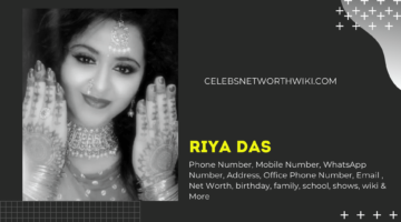 Riya Das Phone Number, WhatsApp Number, Contact Number, Office Phone Number