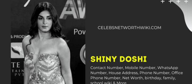 Shiny Doshi Contact Number, Mobile Number,  WhatsApp Number