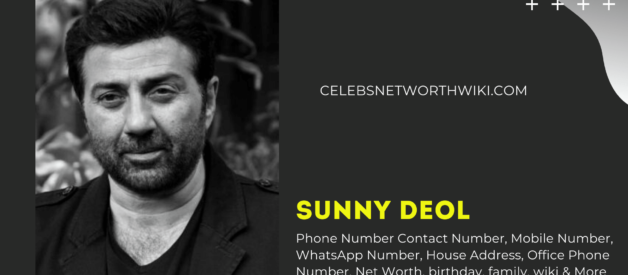 Sunny Deol Ka Number,  Phone Number, Contact Number, Mobile Number, WhatsApp Number