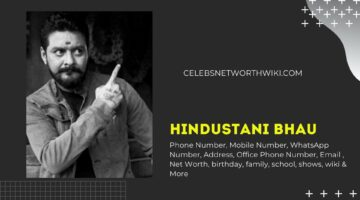 Hindustani Bhau Phone Number, WhatsApp Number, Contact Number, Office Phone Number