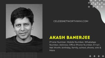 Akash Banerjee Phone Number, WhatsApp Number, Contact Number, Office Phone Number