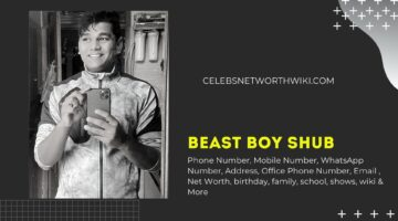 Beast Boy Shub Phone Number, WhatsApp Number, Contact Number, Office Phone Number