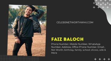 Faiz Baloch Phone Number, WhatsApp Number, Contact Number, Office Phone Number