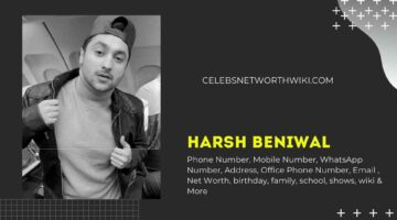 Harsh Beniwal Phone Number, WhatsApp Number, Contact Number, Office Phone Number