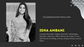 Isha Ambani Contact Number, Mobile Number, WhatsApp Number, Office Phone Number