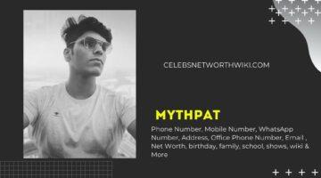 Mithilesh Patankar Mythpat Phone Number, WhatsApp Number, Contact Number, Office Phone Number