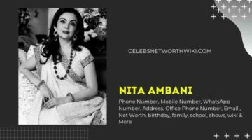 Nita Ambani Mobile Number, WhatsApp Number, Contact Number, Office Phone Number