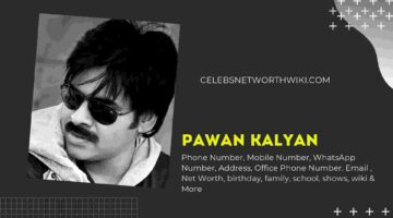 Pawan Kalyan Phone Number, WhatsApp Number, Contact Number, Office Phone Number