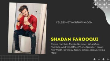 Shadan Farooqui Phone Number, WhatsApp Number, Contact Number, Office Phone Number