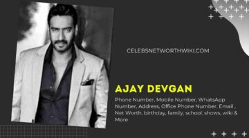 Ajay Devgan Phone Number, WhatsApp Number, Contact Number, Office Phone Number
