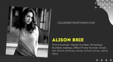 Alison Brie Phone Number, WhatsApp Number, Contact Number, Office Phone Number