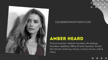 Amber Heard Phone Number, WhatsApp Number, Contact Number, Office Phone Number