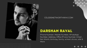 Darshan Raval Phone Number, WhatsApp Number, Contact Number, Office Phone Number