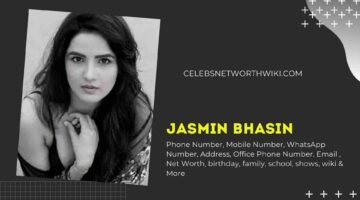 Jasmin Bhasin Phone Number, WhatsApp Number, Contact Number, Office Phone Number