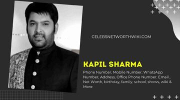Kapil Sharma Phone Number, WhatsApp Number, Contact Number, Office Phone Number