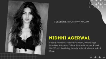 Nidhhi Agerwal Phone Number, WhatsApp Number, Contact Number, Office Phone Number