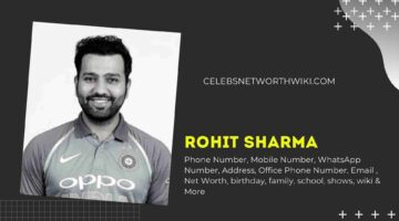 Rohit Sharma Phone Number, WhatsApp Number, Contact Number, Office Phone Number