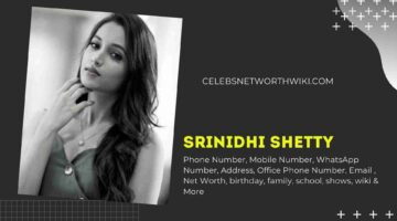 Srinidhi Shetty Phone Number, WhatsApp Number, Contact Number, Office Phone Number