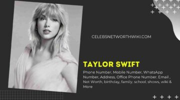 Taylor Swift Phone Number, WhatsApp Number, Contact Number, Office Phone Number