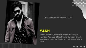 Yash Phone Number, WhatsApp Number, Contact Number, Office Phone Number