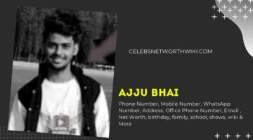 Ajju Bhai Phone Number, Ajjubhai94 Phone Number
