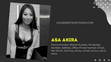 Asa Akira Phone Number, WhatsApp Number, Contact Number, Office Phone Number
