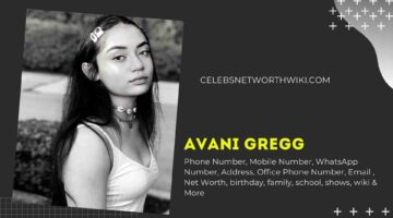 Avani Gregg Phone Number, WhatsApp Number, Contact Number, Office Phone Number