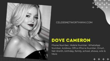 Dove Cameron Phone Number, WhatsApp Number, Contact Number, Office Phone Number
