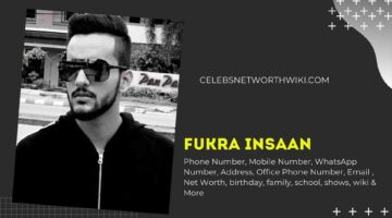 Fukra Insaan Phone Number, WhatsApp Number, Contact Number, Office Phone Number