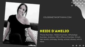 Heidi D'amelio Phone Number, WhatsApp Number, Contact Number, Office Phone Number