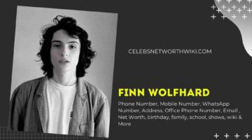 Finn Wolfhard Phone Number, WhatsApp Number, Contact Number, Office Phone Number
