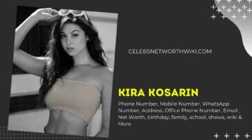 Kira Kosarin Phone Number, WhatsApp Number, Contact Number, Office Phone Number