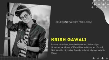 Krish Gawali Phone Number, WhatsApp Number, Contact Number, Office Phone Number