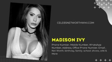Madison Ivy Phone Number, WhatsApp Number, Contact Number, Office Phone Number