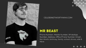 Mr Beast Phone Number, WhatsApp Number, Contact Number, Office Phone Number