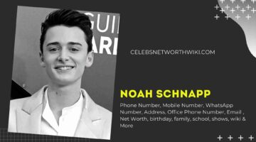 Noah Schnapp Phone Number, WhatsApp Number, Contact Number, Office Phone Number