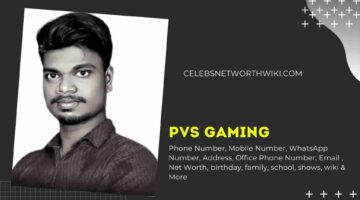 PVS Gaming Phone Number, WhatsApp Number, Contact Number, Office Phone Number