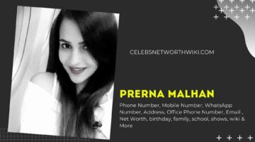 Prerna Malhan Phone Number, WhatsApp Number, Contact Number, Office Phone Number